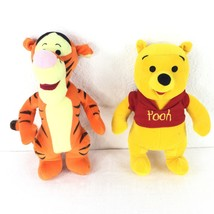 Disney Winnie-the-Pooh And The Tiger Plush Toys - $20.64