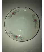 florenteen fantasia fine china 1 Saucer And 4 Desert Plates Used - $20.29