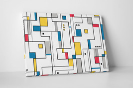 "Circuits Abstract Art Gallery Wrapped Canvas Print 30""x20"" or 20""x16"" - $42.52+"