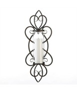 Heart Theme Pillar Candle Wall Sconce - $40.97