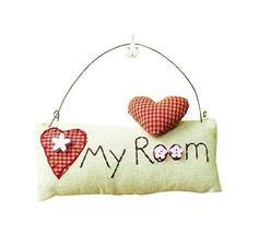 PANDA SUPERSTORE Creative Lovely Door Room Deco Children Room Hanging Ornament B