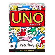 UNO Artiste Series 2 KEITH HARING 112 Card Game Deck Deluxe Box Set BRAN... - $37.37