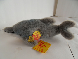 Steiff dolphin with all IDs stuffed animal  made in  Germany 1756 - $40.84