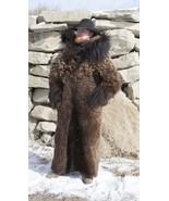Buffalo Hide Fur Coat Full Length Real Yellowstone Buffalo Fur - $2,800.00