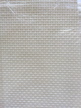 Cross Stitch Fabric Aida 11 Count Ivory 12 x 18 by Charles Craft - $6.66