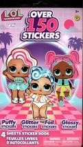 LoL Surprise - Over 150 Stickers 4 Sheet Sticker Book - $8.90