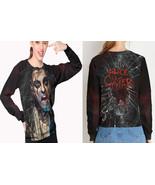women sweatshirt Alice cooper Rock Legend - $30.99+