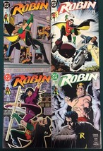 ROBIN mini-series run of (4) issues #2 #3 #4 #5 (1991) DC Comics FINE- - $9.89