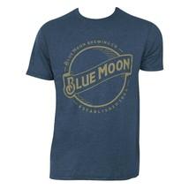 Blue Moon Gold Logo Tee Shirt Blue - $31.98+