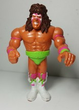 Vintage WWF Hasbro The Ultimate Warrior Loose W... - $11.99