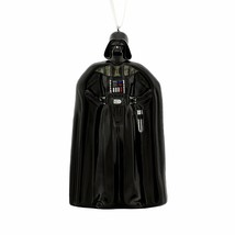 Hallmark Star Wars Darth Vader Blown Glass Christmas Ornament Figure! - $7.84