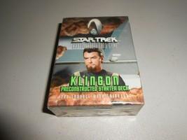 Star Trek Klingon Trouble With Tribbles Customizable Card Game Starter Deck - $4.95