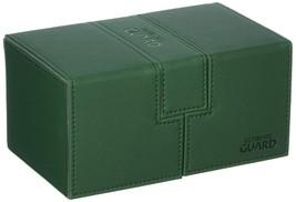 Ultimate Guard Twin Flip´n´Tray Deck Case 160+ Standard Size XenoSkin Green - $48.01