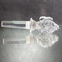 "MIKASA NATURE'S CATCH Clear Lead Crystal Bottle Stopper Height: 5 1/4"" - $18.04"