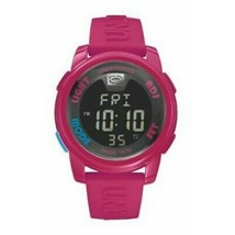 Marc Ecko E07503G8 Women's Pink Silicone Strap with Black Digital Dial  Watch - $38.35