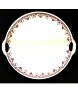 KAHLA Round Platter Tray Made in Germany Porcelain Delicate Rose Pattern  - $21.78