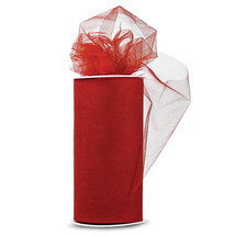 """Expo Shiny Tulle 6""""X24yd Spool-Red - $9.33"""