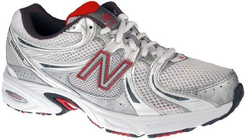 New Balance Womens Running Shoes WR470WP White / Pink / Silver SZ 8