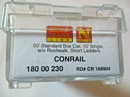 Micro-Trains # 18000230 Conrail 50' Standard Boxcar N-Scale image 5