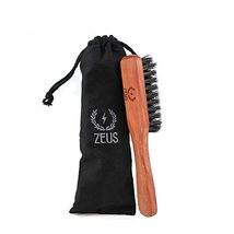 ZEUS 100% Boar Bristle Beard and Moustache Brush, Soft Second Cut image 7