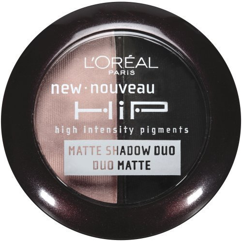 L'Oreal Paris HiP Studio Secrets Professional Matte Shadow Duos, Dashing, 0.08
