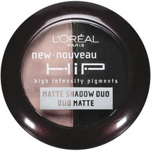 L'Oreal Paris HiP Studio Secrets Professional Matte Shadow Duos, Dashing... - $15.00