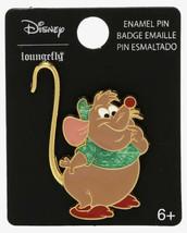 Disney Loungefly Cinderella Gus Gus Tie Dye Shirt And Hat Metal Enamel Pin - $18.31