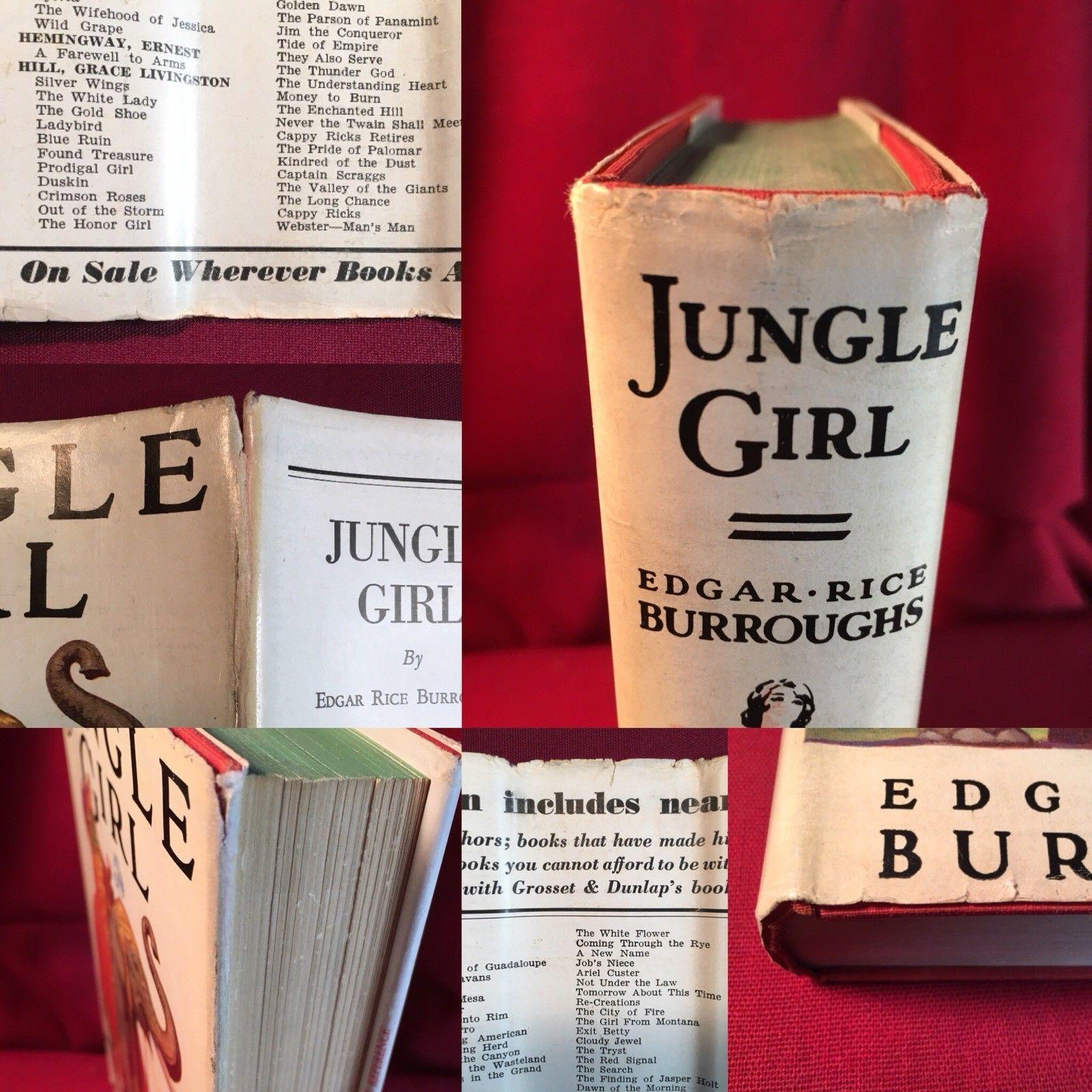Edgar Rice Burroughs JUNGLE GIRL