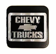 """Chevrolet Silver Bowtie Trailer Hitch Cover - Fits 2"""" & 1-1/4"""" Receivers - $19.99"""
