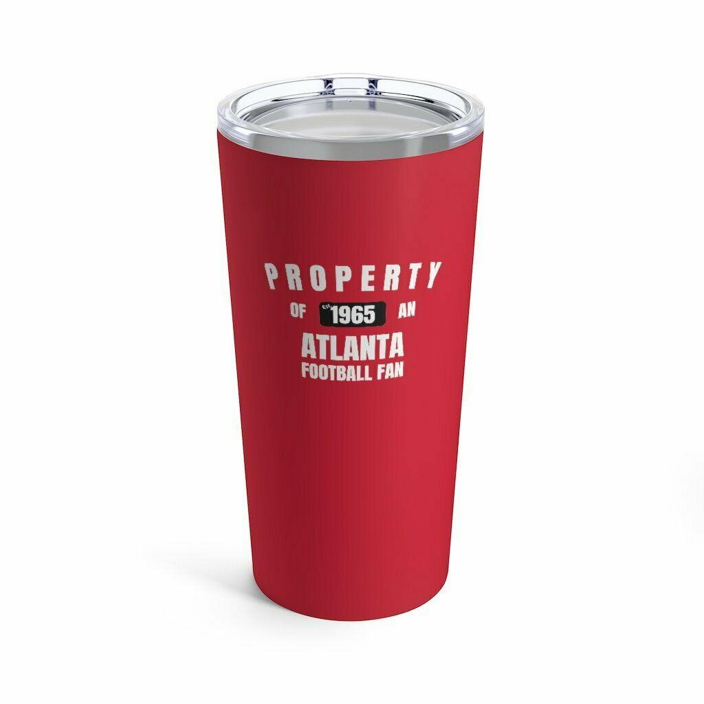 Primary image for Atlanta Football Fan Vacuum Insulated Stainless Steel Tumbler 20 Ounce with Lid
