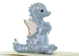 Hagen Renaker Miniature Dragon Baby Blue Ceramic Figurine image 10