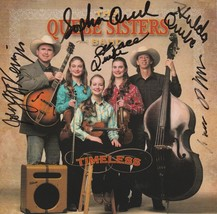 Quebe Sisters Band Timeless CD - signed image 1