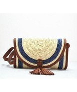 Vintage Straw Tassels Women Messenger Clutch Bags - ₹1,684.46 INR