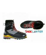 The North Face Mens Verto S6K Glacier GTX Walking Boots Black TNF Yellow... - $469.90