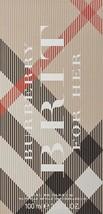 Burberry Brit For Her Eau de Parfum Spray, 3.3 fl oz; Sealed - $46.52