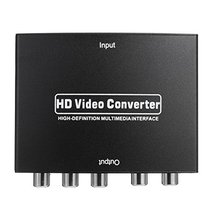 SD-020 1080P HDMI to RGB Component 5RCA YPbPr Video R/L Audio Converter ... - $42.03