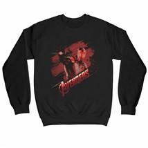 Avengers Endgame Iron Man Tech Adults Unisex Black Sweatshirt - $30.78