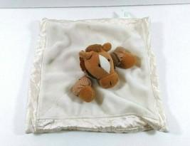 Russ Berrie Pony Horse Cream Brown Security Blanket Lovey Harvest Moon B416 - $19.99