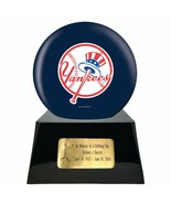 Large/Adult 200 Cubic Inch New York Yankees Metal Ball on Cremation Urn ... - $479.99