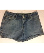 Old Navy Women Solid Blue  Shorts Size 8. 100% Cotton Bin62#30 - $11.30
