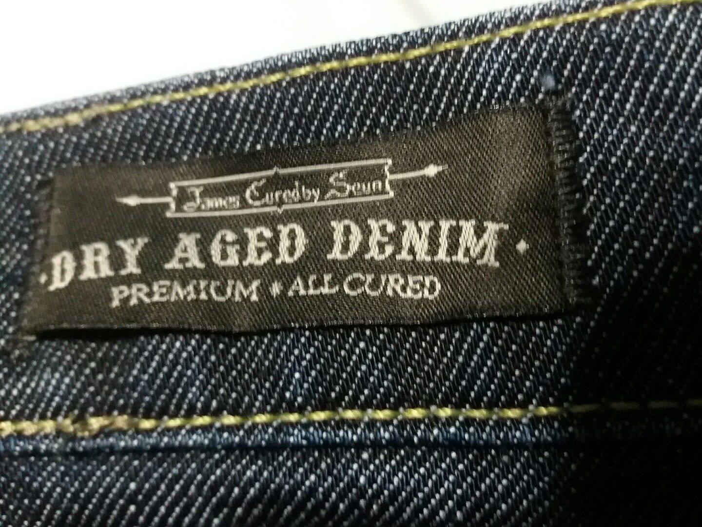 James Jeans by Serum Dry Aged Denim 5-pocket Skinny  Dark Indigo (26)