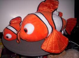 "FINDING NEMO- plush 18""  fish with baby - $39.00"
