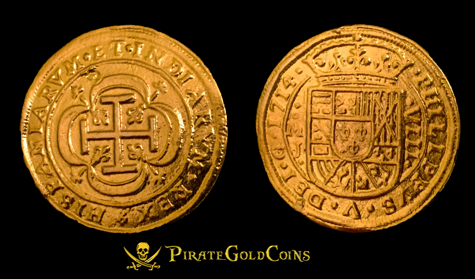 All information about Real Pirate Gold Doubloon Coin - #catfactsblog