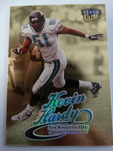 1999 Fleer Ultra #179G Kevin Hardy Jaguars Gold Medallion Edition Card - $1.00