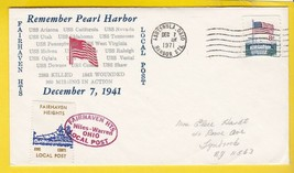 REMEMBER PEARL HARBOR FAIRHAVEN HEIGHTS LOCAL POST ASHTABULA, OH 12/7/1971  - $2.98