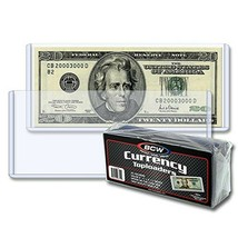 Regular Bill Currency Top Load Holder (25 Count) Clear - $15.51