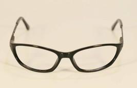 Fossil Unisex RACER Black Plastic Metal Eyeglass Frames Designer Rx Eyewear - $9.12