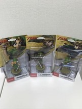 Amiibo Zelda Link Majora's Mask Twilight Princess Skyward Sword Japanese... - $64.34