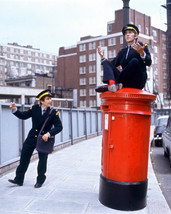 Peter Cook and Dudley Moore 16x20 CanvasColor Poster By Old English Post Box - $69.99