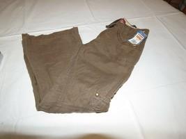 Girls Unionbay youth 7 R regular lightweight pants NWT 36.00 soft bark b... - $30.78